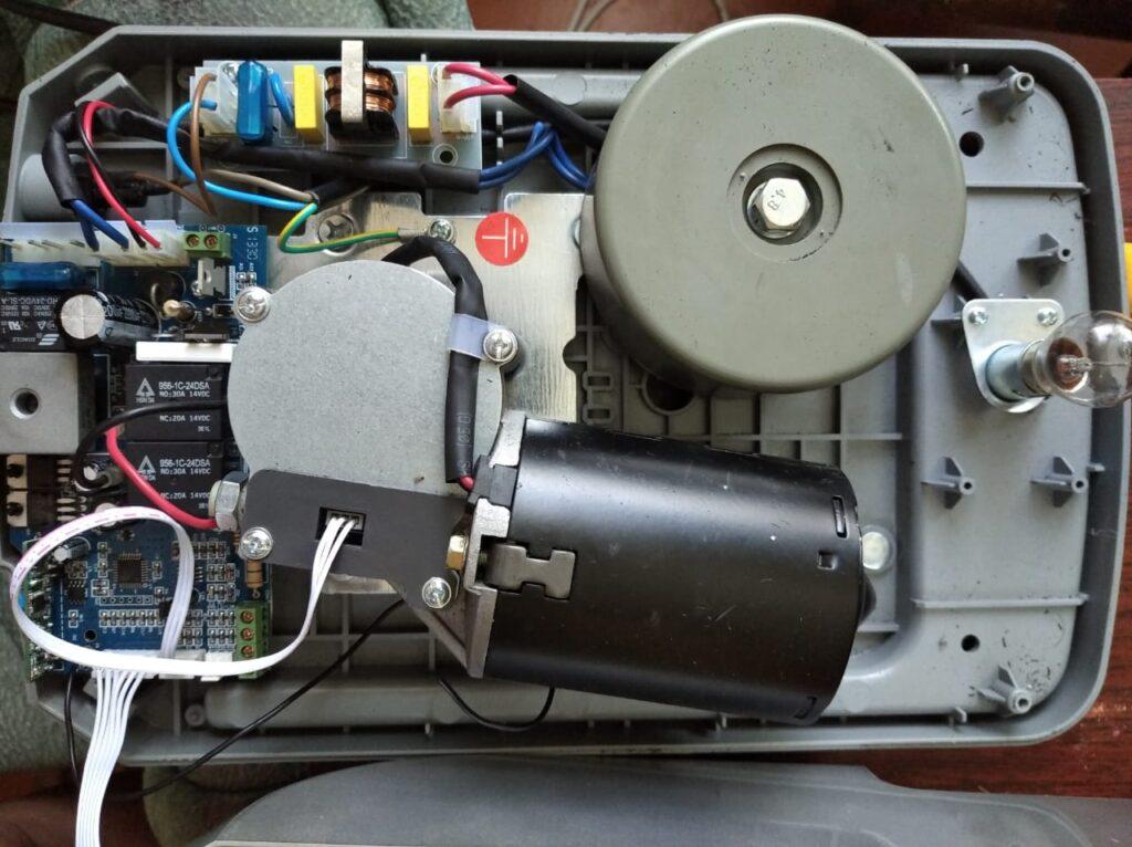 An Motors начинка потолочного электропривода