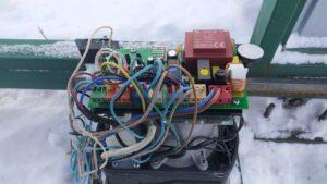 ремонт платы мотора откатных ворот