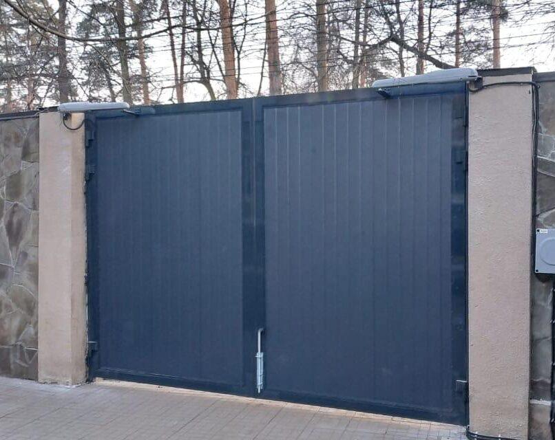 ремонт распашных ворот в Туле