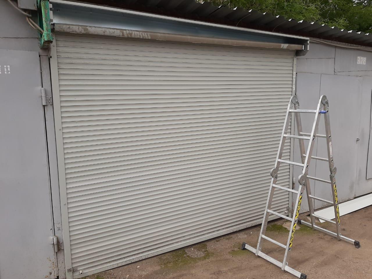 ремонт рольстаней гаража в Туле
