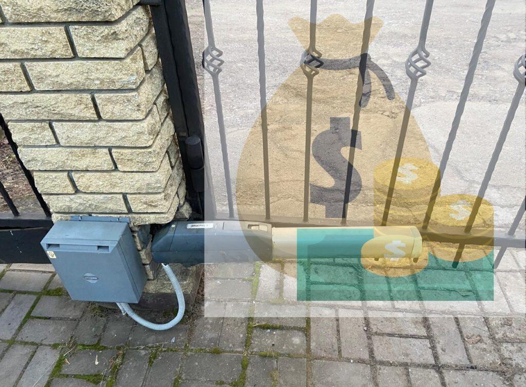 ремонтировать или менять электропривод распашных ворот