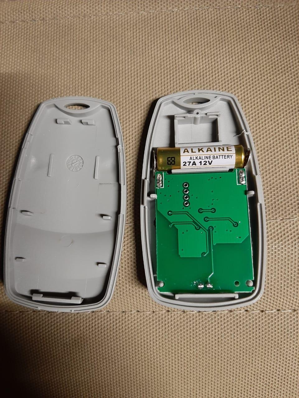 DoorHan замена батареки радиопульта