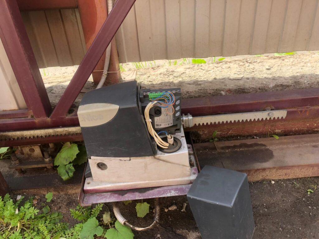 ремонт автоматических откатных ворот в Богородицке