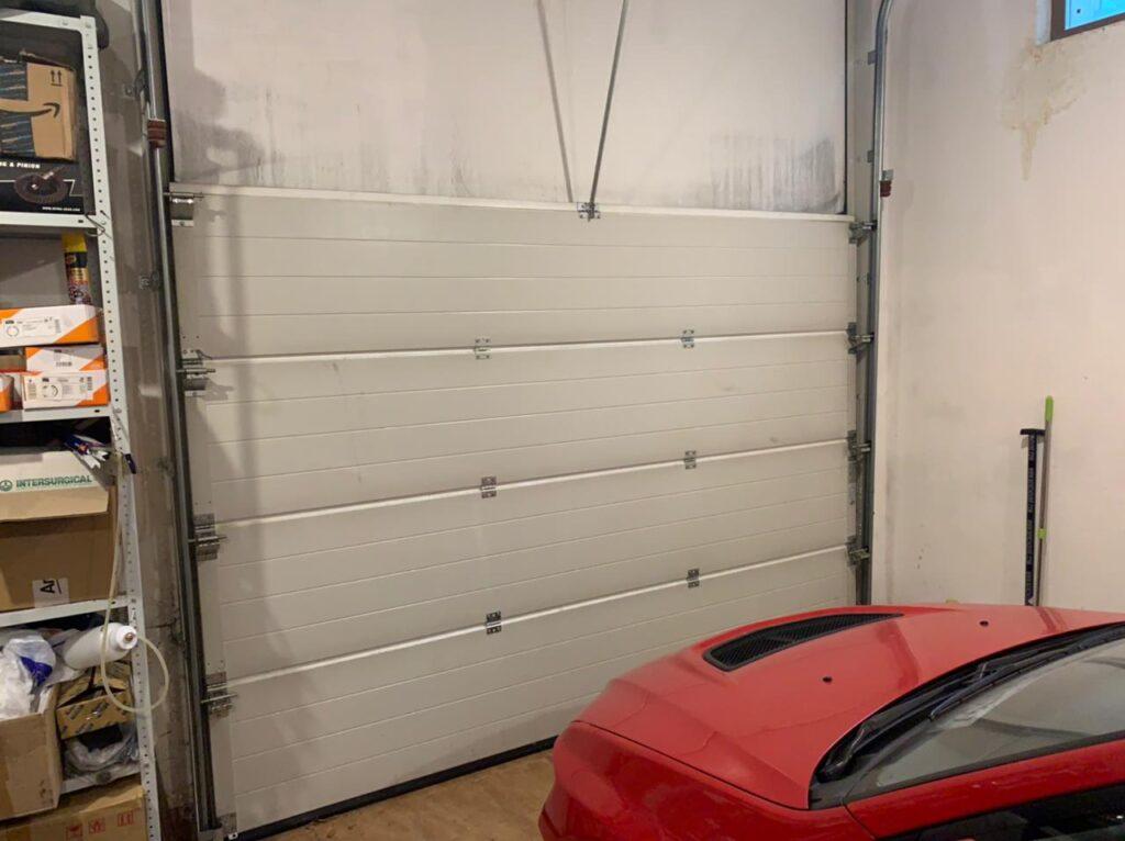 ремонт гаражных ворот повышенный подъем