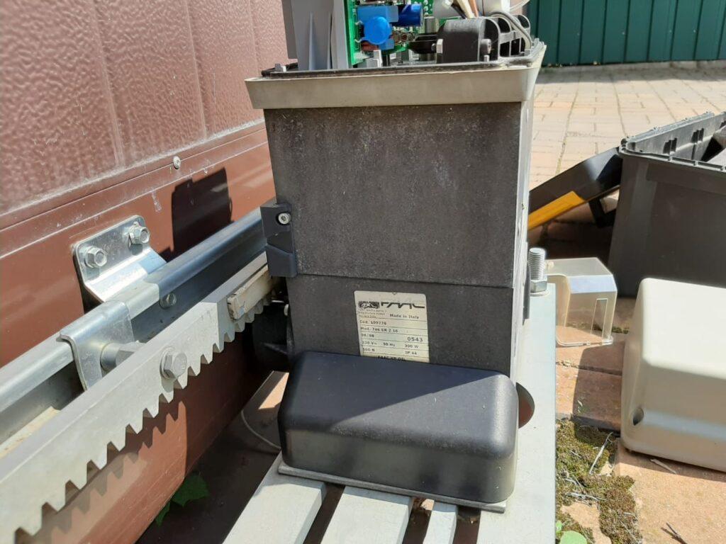 демонтаж электромотора Faac